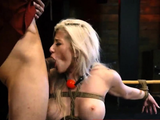 Teen girls outdoor gangbang first time Big-breasted blond