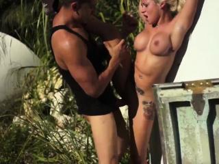 Bondage birthday mistress and brutal sex machine It