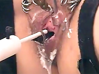 All means are good for obtaining high-quality and prolonged orgasm. There are many homemade devices for this purpose. Some hellish machines make them cum continuously to exhaustion.