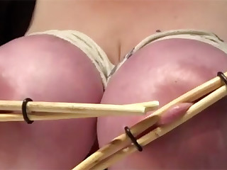 Do not rush to throw away chopsticks from a Japanese restaurant, because they can be used in bondage play. Hard squeeze and strong rope will lead you or your partner to orgasm.