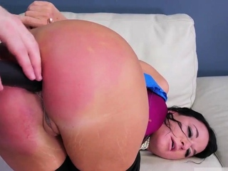 Couple gets dominated and bdsm double Fuck my ass, tear
