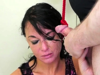 Gagging with panties bondage Talent Ho