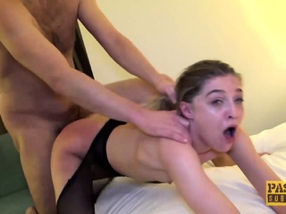 PASCALSSUBSLUTS - Skinny Sub Rhiannon Ryder Pussy Dominated