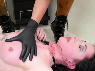 Hardcore threesome blonde bondage This is our most