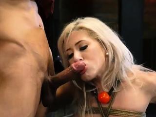 Bi domination Big-breasted ash-blonde cutie Cristi Ann is