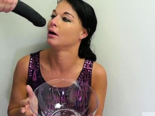 Extreme dildo penetrations and mom foot fetish xxx Talent