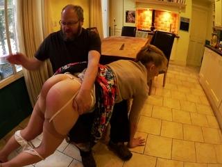 Big tit blonde amateur MILF seduced by a taxi