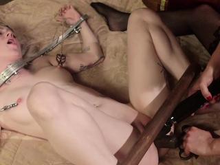 Lezdom mistress giving anal play treat