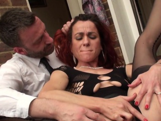 Redhead submissive fingerfucked roughly