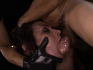 Isa Mendez got tied and mouth filled with big rod