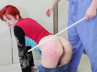 Office boss punished first time Cummie, the Painal Cum Cat