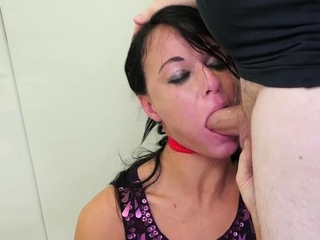 Dominated wife blowjob In this ass fucking therapy