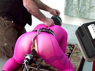 BDSM, analhook, fucking machine