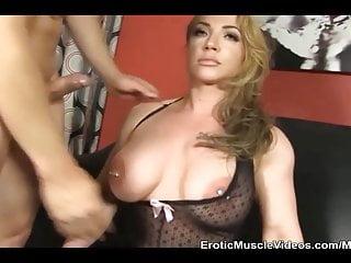 EroticMuscleVideos BrandiMaes Muscle Slave Part 2