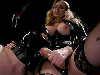 Latex Dominatrix Julia Ann Trains Cock Whore Tony Orlando
