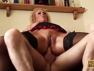 Mature subslut assfucked hard and punished with cum in mouth