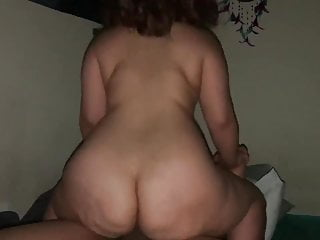 Big Mama Riding good BBC. Big Ass Bouncing.