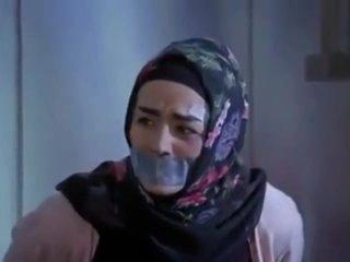 Hijab gagged